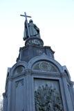 对弗拉基米尔的纪念碑伟大 库存图片