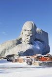 对战争的勇敢的纪念碑 免版税图库摄影