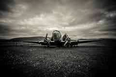 对战争的残骸 免版税图库摄影