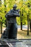 对战争的纪念碑 库存图片