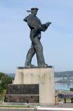 对战士的一座纪念碑 免版税库存照片