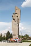 对战士的纪念碑在战争中 免版税图库摄影