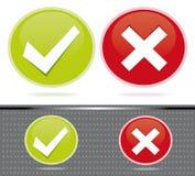 对投票估计的数字式图标 免版税库存图片