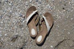 对拖鞋 免版税库存图片
