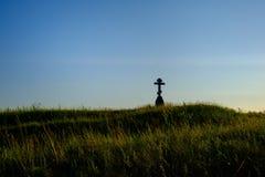 对捷克斯洛伐克的军队的纪念碑 免版税图库摄影