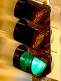对控制的红绿灯 免版税库存图片