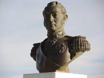 对救星何塞de圣马丁省的纪念碑。 库存图片