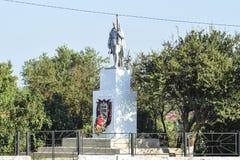 对救星的纪念碑战争 库存图片