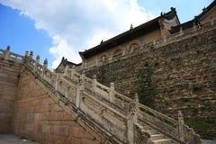 对方式的天堂寺庙 免版税库存图片