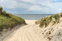 对方式的海滩 库存图片