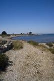 对方式的海滩 免版税库存图片