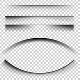 对方格的背景的透明现实纸屏蔽效应 免版税图库摄影