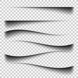对方格的背景的透明现实纸屏蔽效应 库存照片
