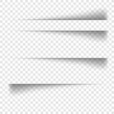 对方格的背景的透明现实纸屏蔽效应 免版税库存照片