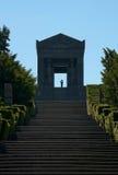 对无名战士的纪念碑 免版税图库摄影