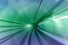 对未来的隧道 库存照片