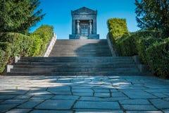 对未知的英雄的纪念碑,塞尔维亚 免版税图库摄影