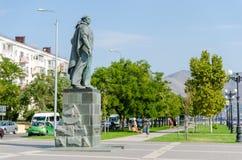 对未知的水手的纪念碑新罗西斯克的堤防的 库存图片