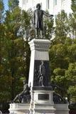 对杨百翰和先驱的纪念碑在盐湖城,犹他 库存照片