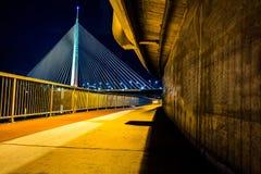 对桥梁的段落 免版税库存图片