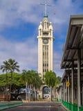对檀香山港口,喂塔的门户 库存图片