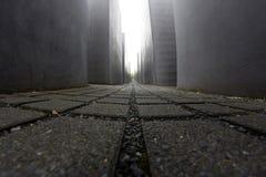 对欧洲,柏林,德国的被谋杀的犹太人的纪念品 库存照片
