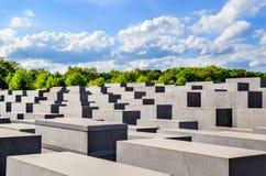 对欧洲, 5月04日2015 B的柏林的被谋杀的犹太人的纪念品 图库摄影