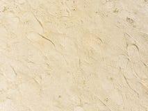 对此的黄沙和踪影 免版税库存照片