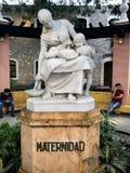 对母性的纪念碑 免版税库存图片