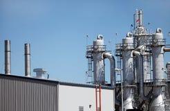对氨基苯甲酸二厂蒸馏塔 库存图片
