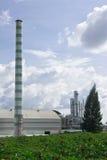 对氨基苯甲酸二工厂 免版税库存图片