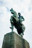 对汉斯Waldmann的纪念碑在苏黎世 图库摄影