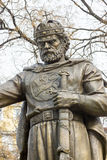 对沙皇撒母耳的纪念碑在索非亚,保加利亚的中心 免版税库存图片