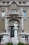 对法国作曲家朱尔斯埃米尔弗雷德里克Massenet的雕象 库存图片
