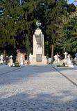 对法国战死者的纪念品,布加勒斯特,罗马尼亚 图库摄影