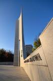 对波兰人地下状态和家庭军队的纪念碑 库存照片