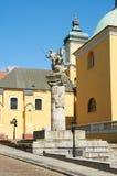 对波兹南的骑兵的纪念雕象 波兹南 免版税库存图片