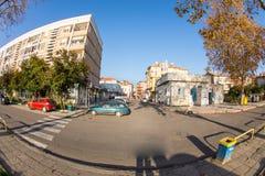 对波摩莱,保加利亚的中心的街道 库存照片