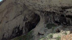 对洞D `阿尔塔的游览在马略卡海岛上  股票录像
