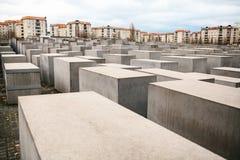 对浩劫的受害者的纪念品在柏林 纪念品在德国,犹太人和纳粹主义的受害者记忆和 库存照片