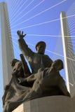 对海员的纪念碑在第二次世界大战中死了 图库摄影