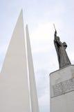 对海洋水手的纪念碑 免版税库存照片