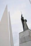 对海洋水手的纪念碑 图库摄影