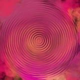 对淡色背景的抽象液体油画作用 螺旋淡色艺术品 库存例证