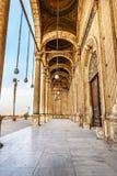 对清真寺的入口 库存照片