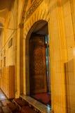 对清真寺的门 图库摄影