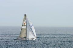 对游艇的竞争的霍巴特rac rolex悉尼 库存图片