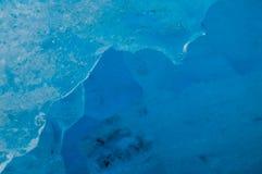 对熔化Nigardsbreen冰川的看法 图库摄影