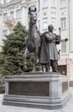 对爱国战争的英雄的纪念碑1812-1814 M 我 普拉托夫 免版税库存图片