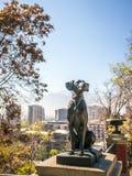 对狗的纪念碑 免版税图库摄影